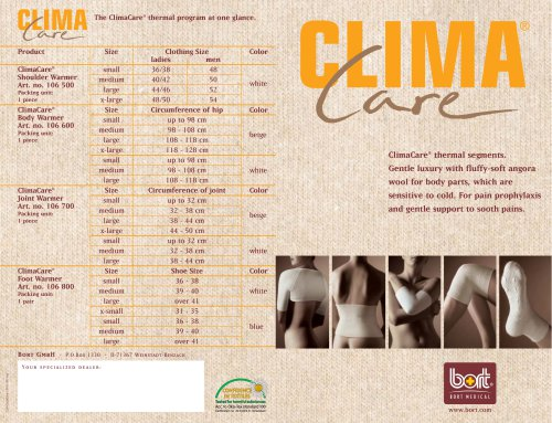 ClimaCare®