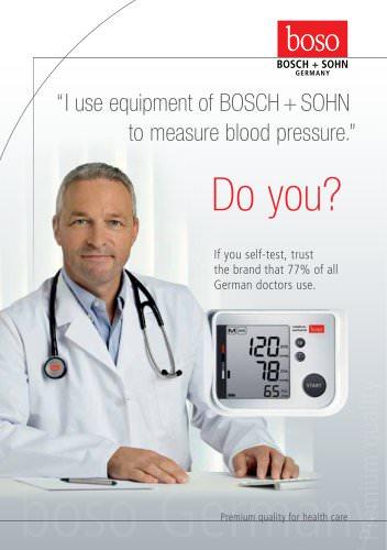 Blood pressure monitors for patients - EN