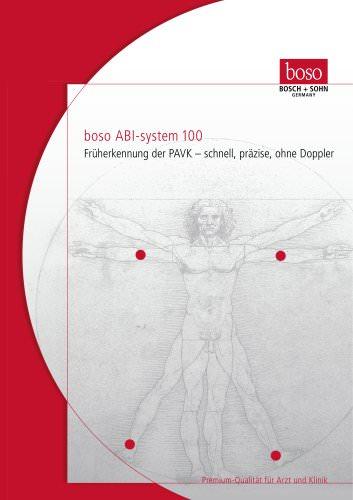 Systolic pressure monitor Boso-ABI - EN
