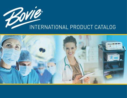 BOVIE® INTERNATIONAL PRODUCT CATALOG