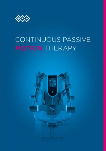 CONTINUOUS PASSIVE  MOTION  THERAPY
