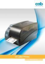 e4 label printer - 1