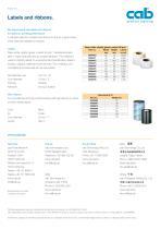e4 label printer - 4
