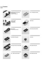 PCB Connectors, Special Sockets and Accessories - 4