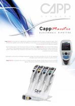 Capp Maestro ElEctronic Pipettes