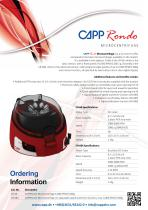 Capp Rondo microcentrifuge