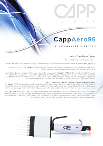 CappAero multichannel
