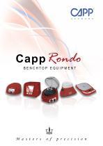 CappRondo Benchtop Equipment - 1