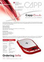 CappRondo Magnetic Stirrer
