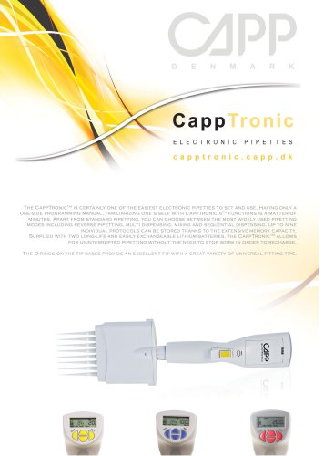 CappTronic single channel