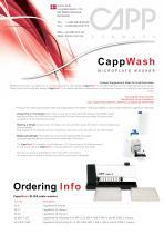 CappWash Microplate Washer - 1