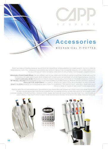 NEchanical Pipette Accessories
