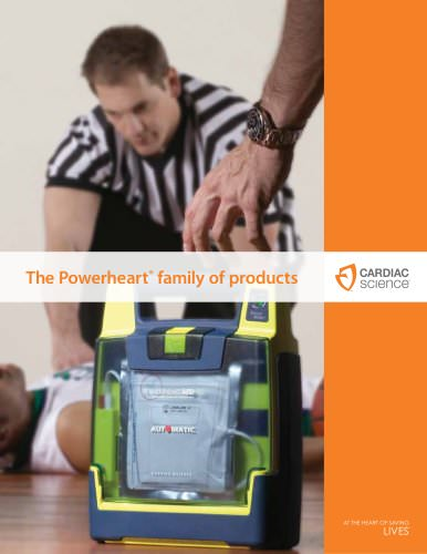 AED Powerheart Family of Products