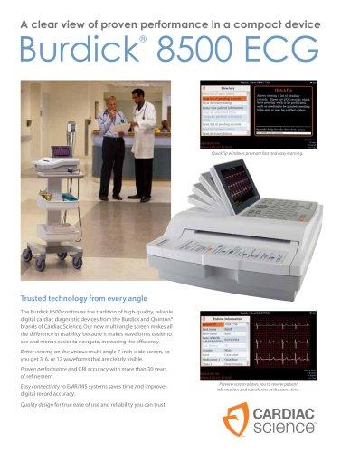 Electrocardiograph Burdick 8500 - EN