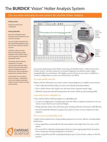 Holter ECG Vision - EN