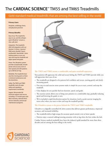 Stress test treadmill TM55/TM65 - EN