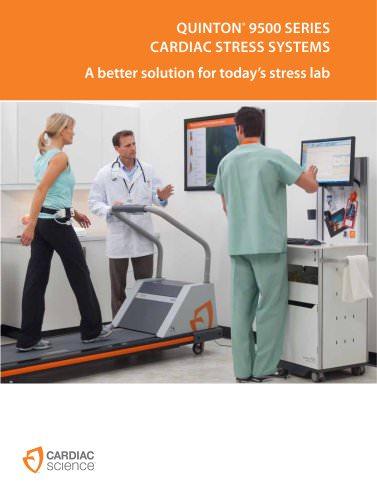Stress test workstation Quinton 9500 - EN