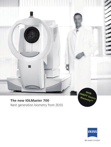 The new IOLMaster 700