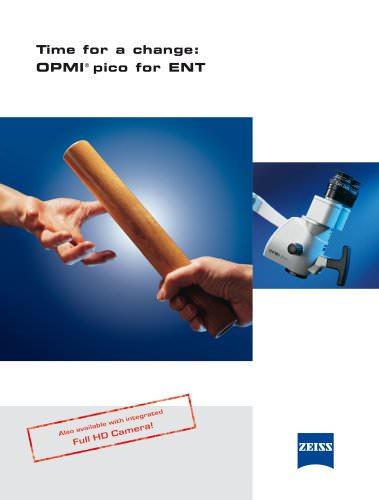 OPMI pico for ENT Diagnosis.