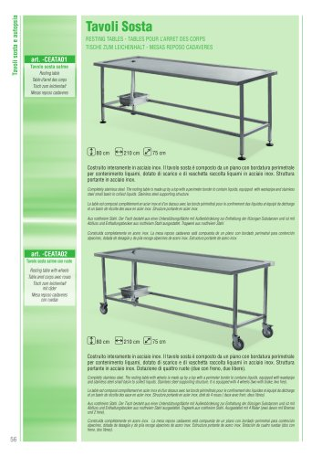 Body Resting Tables