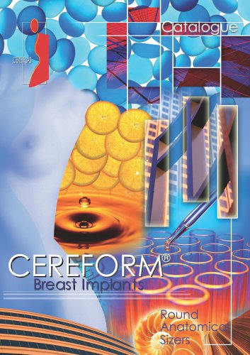 Catalog CEREFORM®, Breast implants