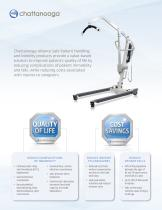 LIFTING CARE AND SAFETY TO NEW HEIGHTS INTRODUCING OUR NEW LINE OF ALLIANCE1 PATIENT LIFTS - 2