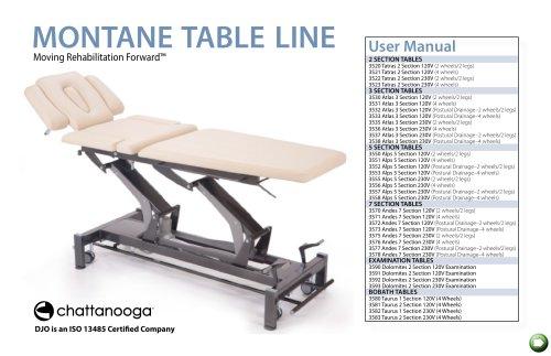 Montane Table LINE
