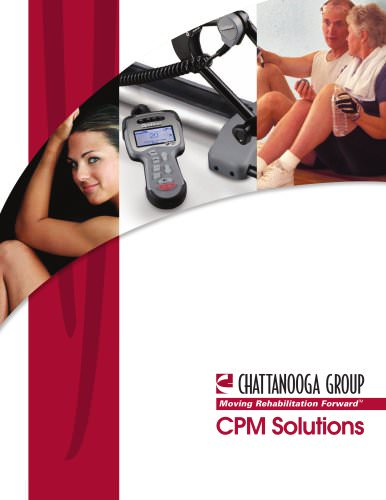 Moving Rehabilitation Forward™ CPM Solutions