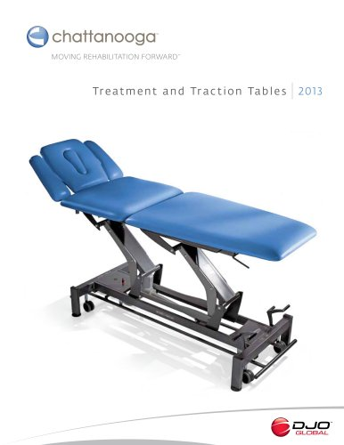Treatment and Traction Tables 2013