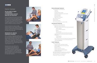 Vectra Cenisys Electrotherapy Products 2012 Catalog - 2