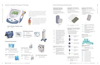 Vectra Cenisys Electrotherapy Products 2012 Catalog - 5