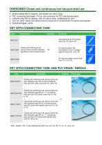 Low vacuum drainage set with collection bag - 2