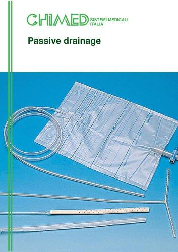 Passive drainage