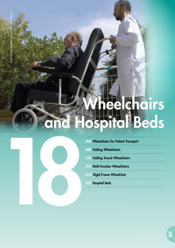 WHEELCHAIRS AND HOSPITAL BEDS