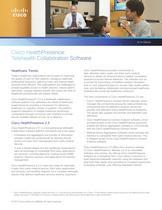 Cisco HealthPresence At-A-Glance