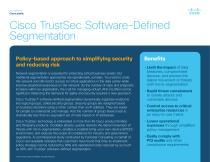 Cisco TrustSec Software-Defined Segmentation