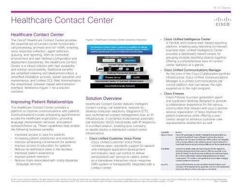 Healthcare Contact Center