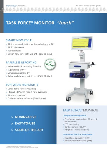 Task Force® Monitor TOUCH