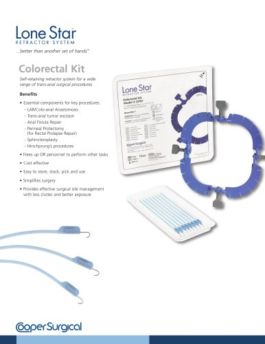 Lone Star Colorectal Kit Brochure