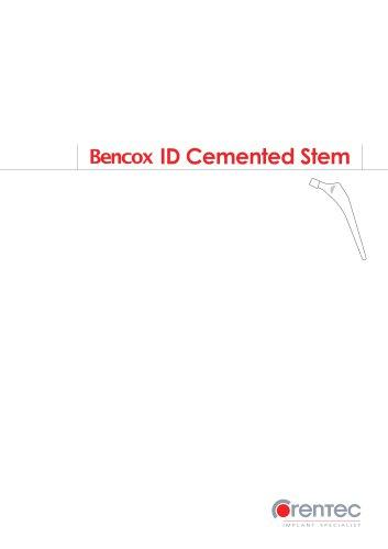 Bencox ID Cemented Stem