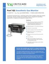 Anesthetic gas monitor 8500Q POET® IQ2 - EN