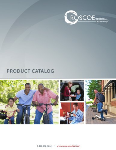 2015 Roscoe Medical Product Catalog