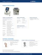 InTENSity™ CX4 Clinical Electrotherapy and Ultrasound System with Therapy Cart - 4
