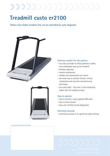 Treadmill custo er2100
