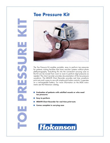 Toe Pressure Kit