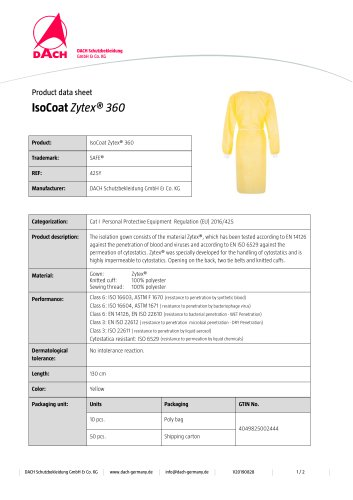 IsoCoat Zytex® 360