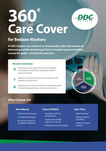 360° Care Cover For Bedpan Washers