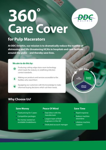 360° Care Cover for Pulp Macerators