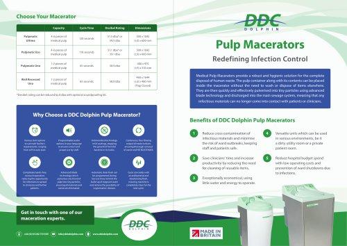 DDC Dolphin medical pulp macerators