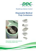 Disposable Medical Pulp Containers